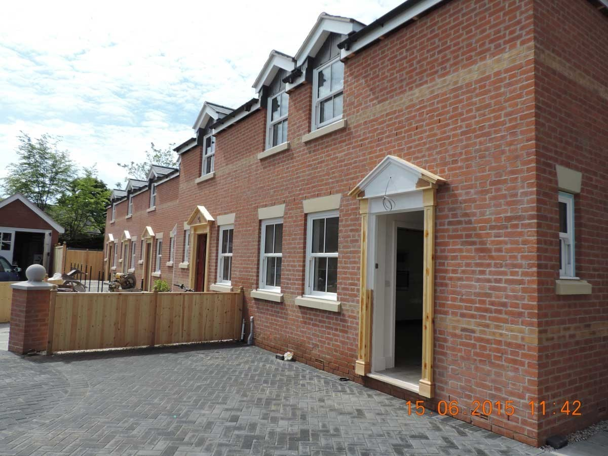 Nearing Completion and New Occupants Moving In