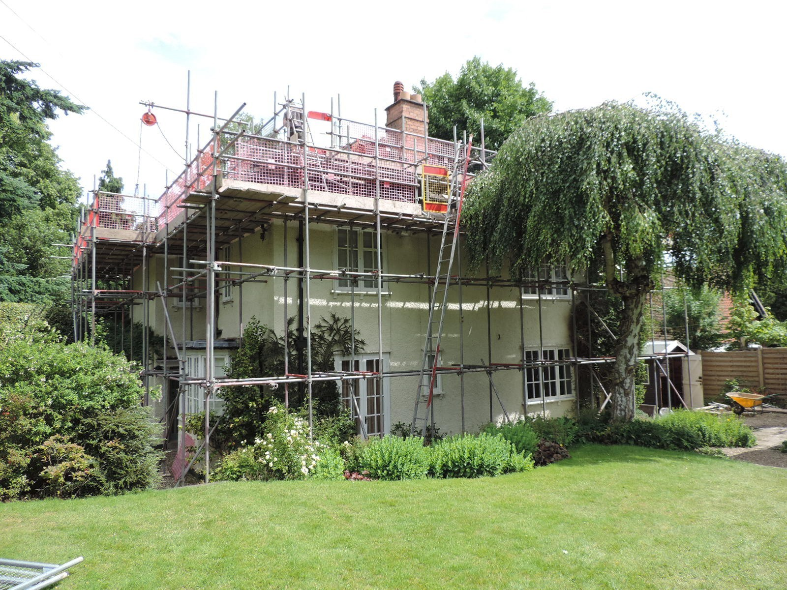 Arts and Crafts house makeover starts on site