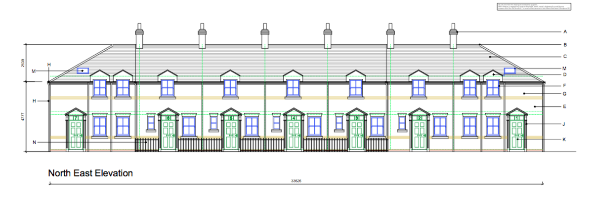 Mews Houses Architect Plans