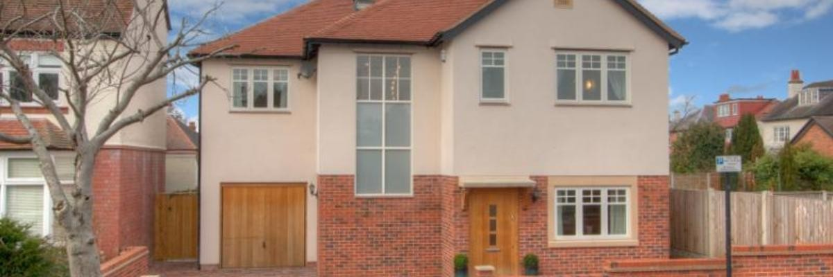 Contemporary Detached House Outside View