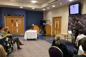 Nicks early morning presentation to Severn Business Network